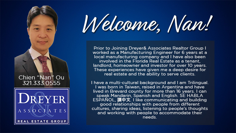 Dreyer & Associates Welcomes Multilingual Nan-Ou
