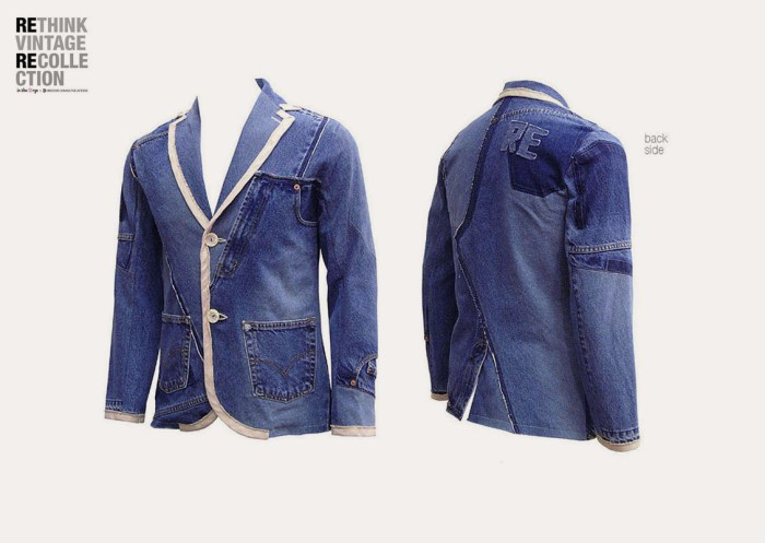 in the Rye x Drezier Communications Rethink Vintage homme blazer #03