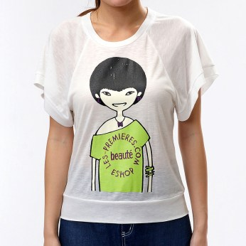 Fashion Online Brand based in Hong Kong and Dongguan :: Summer 2012 Official Oversize Tee in white