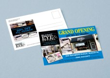 Fashion Branded Eyewear Retail in New Jersey :: branding and identity applications :: Post Card