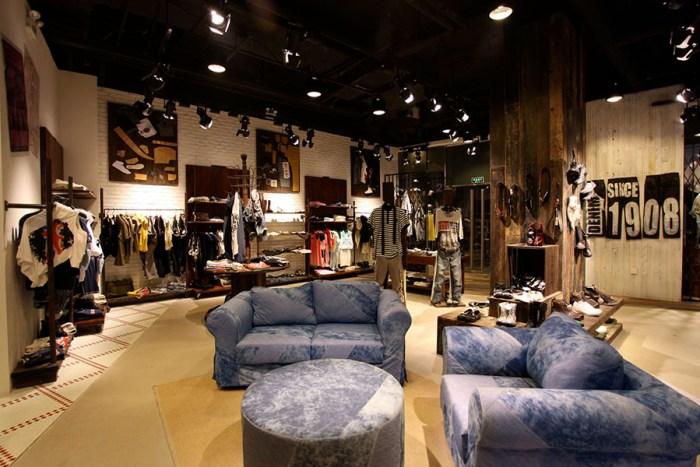Lee Cooper Sanlitun Flagship Store in Beijing :: Comfort Zone