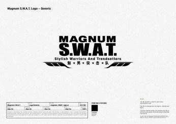programme logo identity, S.W.A.T. | British Fashion Retail Brand - Magnum London :: customer relationship management