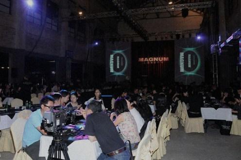 Event management venue stage design consultancy videography production directorship | British Fashion Retail Brand – Magnum London :: Event Magnum Opus 2008