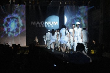 Stage design fashion show consultancy videography production directorship | British Fashion Retail Brand – Magnum London :: Event Magnum Opus 2008