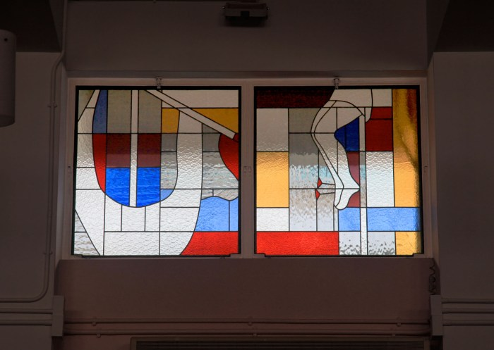 Ricci Hall Chapel :: revamp with stained glass design