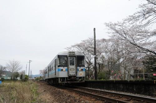 仁井田駅発車 4743D キハ1039号車