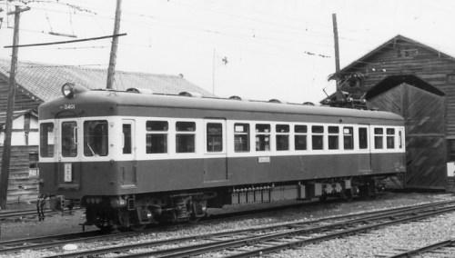 最新型は1955年製・車体と台車は帝車/電装品は東洋