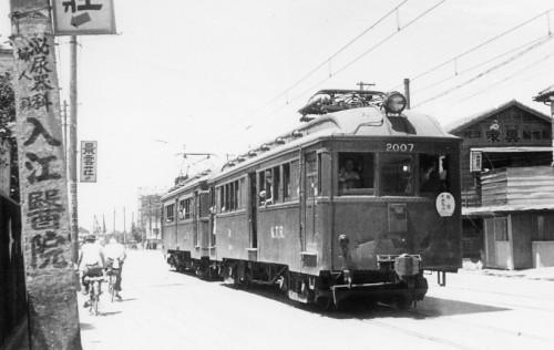 ③高橋弘さんから貰った61年前の京王電車