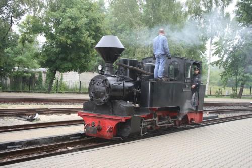 ヴァイスヴァッサーで発車を待つ99-3312号