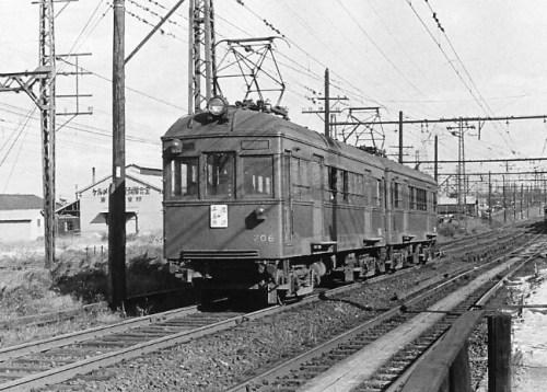 伝法線の701形は1958年で終わった。