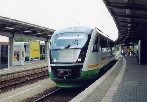 車籍は第3セクター、亜幹線急行用、時速160㌔で走る