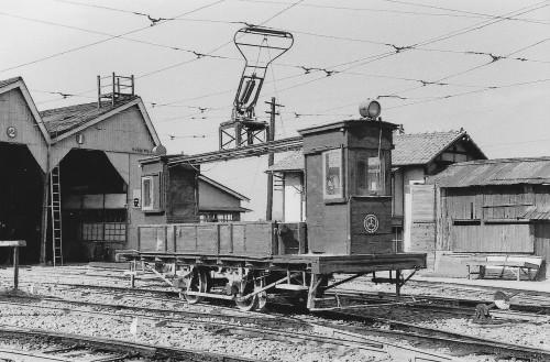 琴参の無蓋貨車は日本商会と称するメーカー製