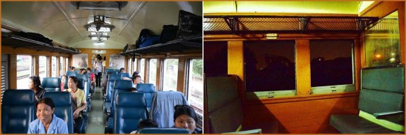 39_アユタヤ→バンコク_列車車内