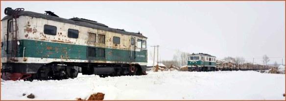 03_運材列車と交換