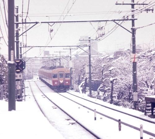京阪雪景色2