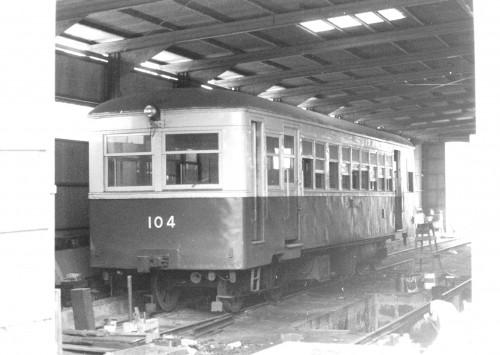 熊延鉄道から来たキハ104
