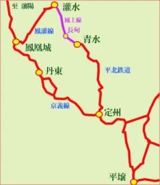 路線図_平北鉄道
