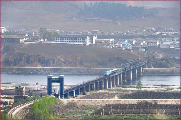 05_集安鴨緑江国境鉄道大橋