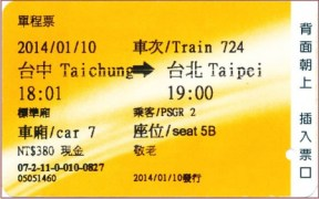 140110_高鐡切符_台中→台北