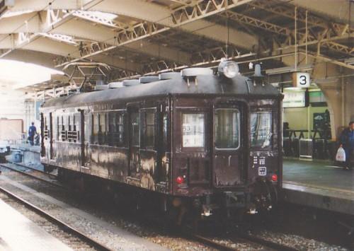 鶴見駅のクモハ12052