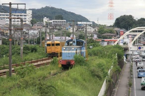 山陽本線1716M 岡山行きが通過