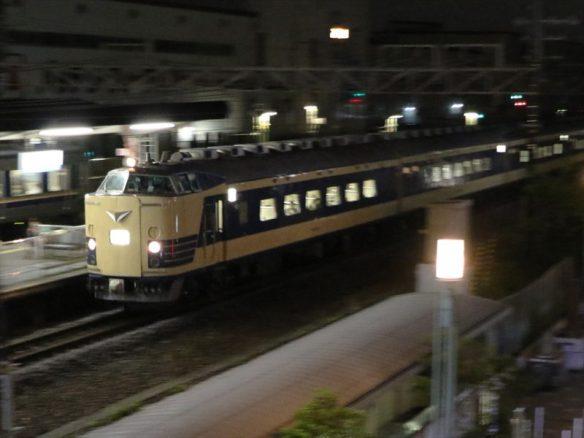 上り583ニコ超 (1)長岡京