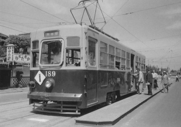 続き番号の188型は2両が東洋工機の製造、寸法、定員共に180型と同じ