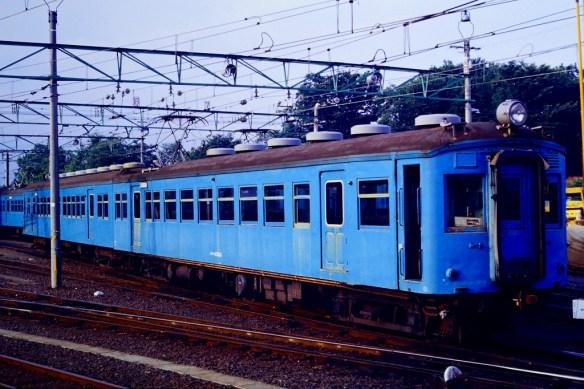 クモハ43810とクハ55435 北松本