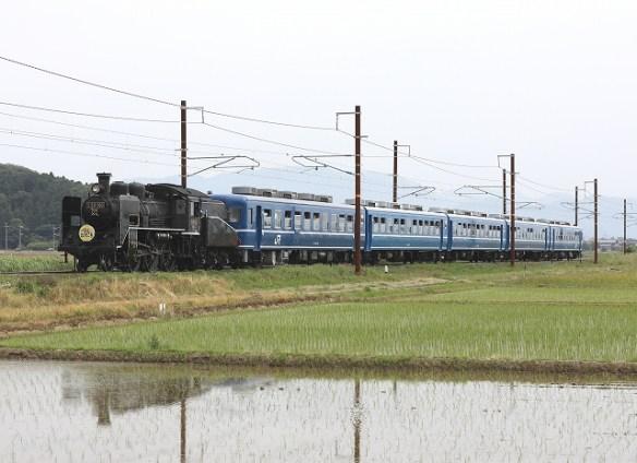 ありがとうC56 in 北陸本線/2018.06.07/Posted by 893-2