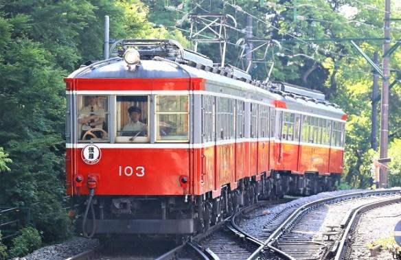 箱根登山鉄道旧型車/2019.06.16/Posted by 893-2