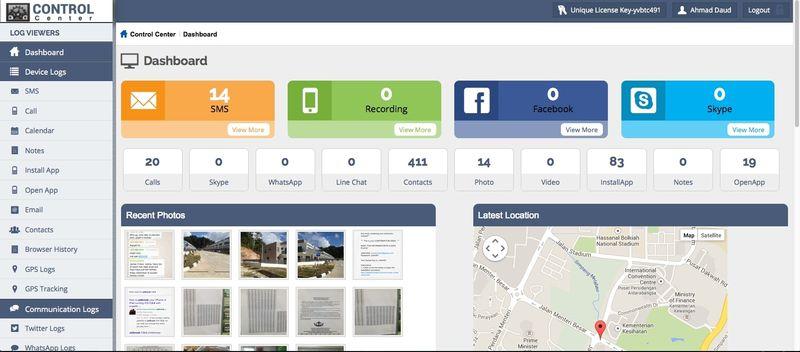 Highster Mobile facebook spy app