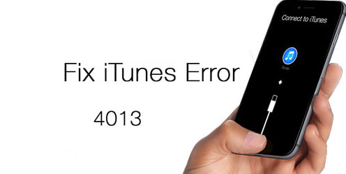 Fix the iTunes error 4014/4013
