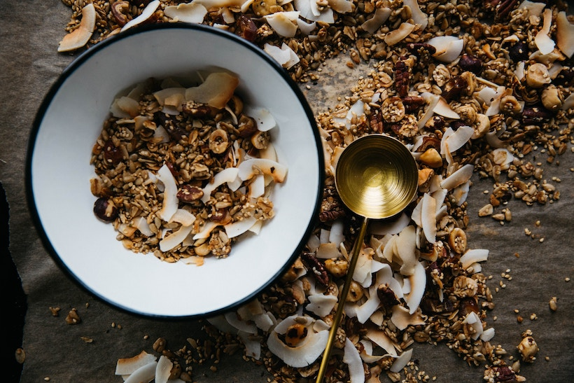 Health Coach Tip – Low Carb Your Granola