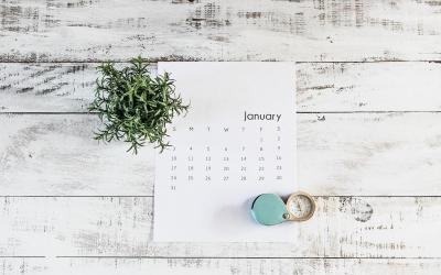 Health Coach Tip – Monthly Resolutions for 2021
