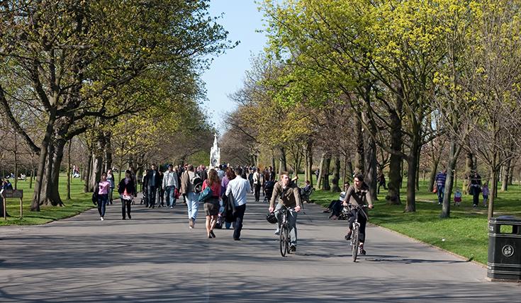 Šetnja i vožnja biciklom