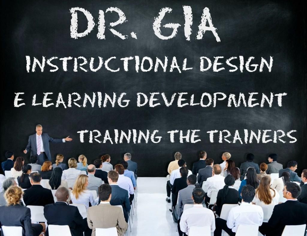 DR GIA BLACKBOARD TRAINING E LEARNING