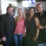 Garret, Mandy, Dr. Gia, & Hayward