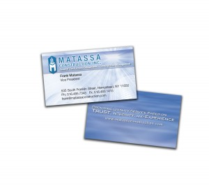 drgli matassa construction business cards