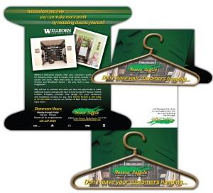 drgli nassau suffolk lumber hanger mailer design print work
