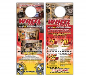 drgli wfi door hanger design print work