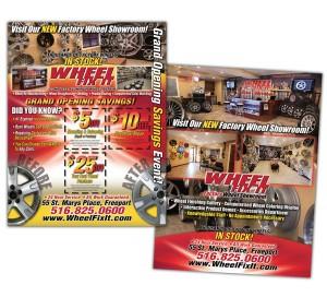 drgli wfi showroom flyer design print work