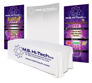 ms hitech tradshow booth