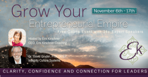 Emi Kirschner's Grow Your Entrepreneurial Empire Summit Interview with Dr. David Gruder