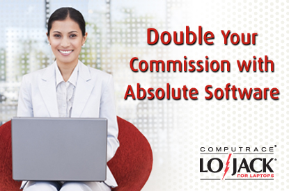 Double Your Commission with Absolute Software