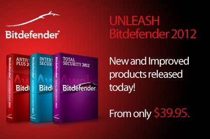 BitDefender US – New and Improved 2012 products released today!