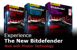 Experience The New Bitdefender - Now with Photon Technology