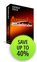Bitdfender Family Pack - Save Up To 40%