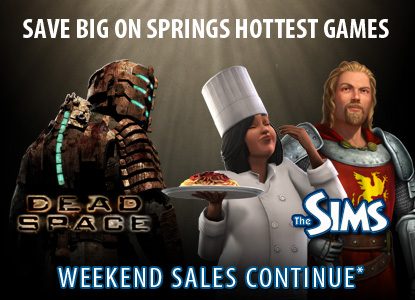 Save Big on Springs Hottest Games | Weekend Sales Continue*