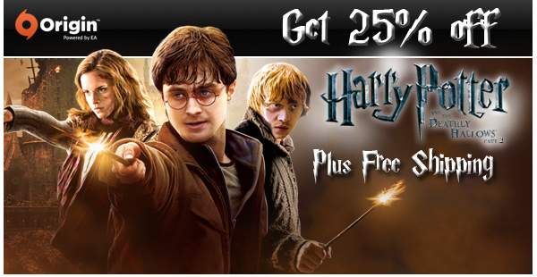Get 25% off Harry Potter and the Deathly Hallows™ Part 2, Plus Free Shipping