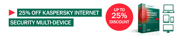 Great offer on Kaspersky Internet Security Multi-Device this summer